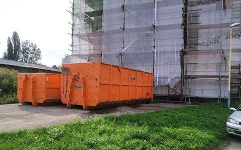 Odvoz odpadu zo stavby