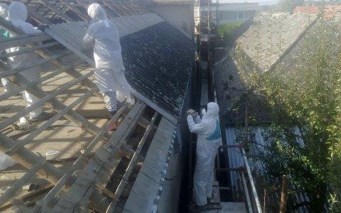 Likvidacia azbestovej strechy
